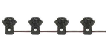 4-socket harness set pre-wired candelabra sockets with 2
