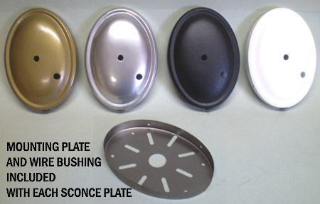 Wall Plate With Back Now Available In 4 Powder Coated Colors All Details Are The Same As Above